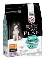 Psi - krmivo - ProPlan Dog Adult Med&Larg OptiDigest GrainFr kr